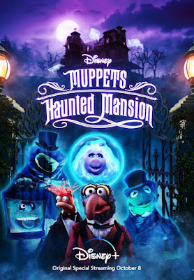 Muppets Haunted Mansion 2021 DVD Custom HD NTSC Latino