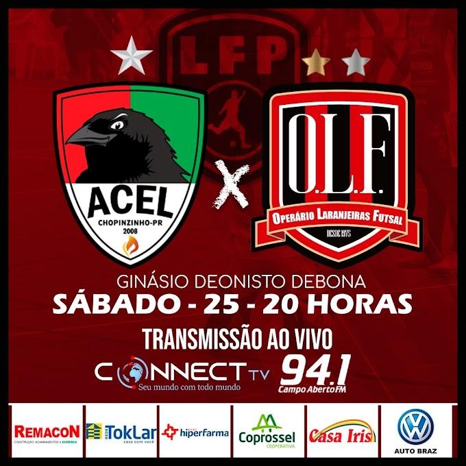 Operário estreia na Liga Paraná contra a Acel Chopinzinho neste sábado, 25