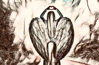 The love and power of Angels... The secrets are to be open in heart and mind.