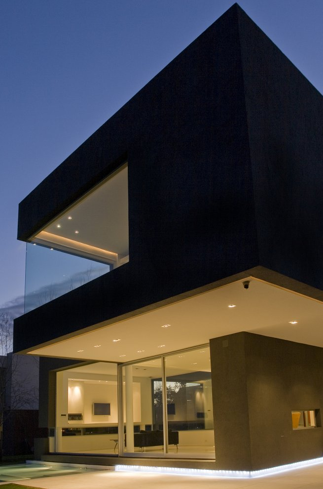 Black House Buenos Aires Argentina Most Beautiful Houses in the World