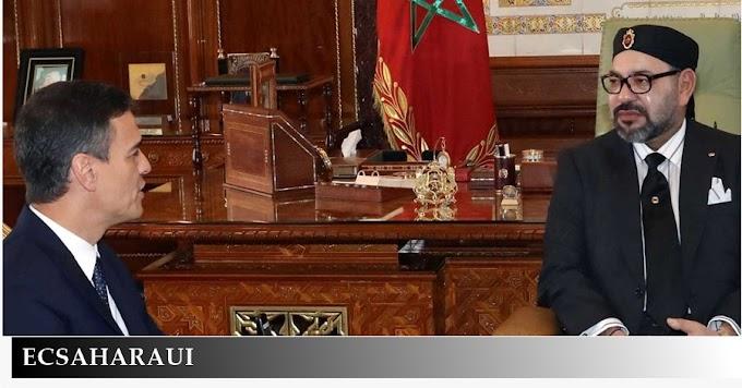 El régimen de Marruecos manda, España obedece.