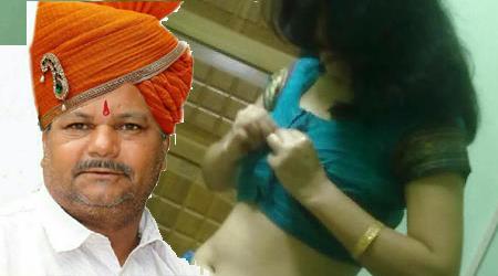 Image result for BJP आॅफिस में महिला मित्र के साथ रास रचा रहे थे भाजपा नेता, बाहर निकाला