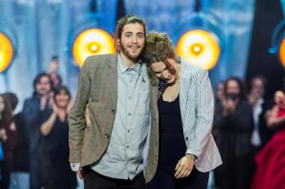 Resultado de imagem para salvador sobral first semifinal eurovision 2017