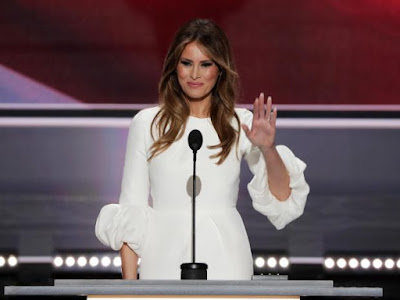 NewsTimes-Melania Trump plagiarises Michelle Obama's in RNC speech