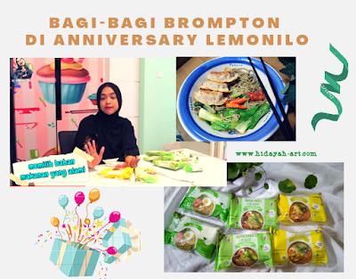 Ria Ricis Bagi-Bagi Brompton dan iPhone di Anniversary Lemonilo