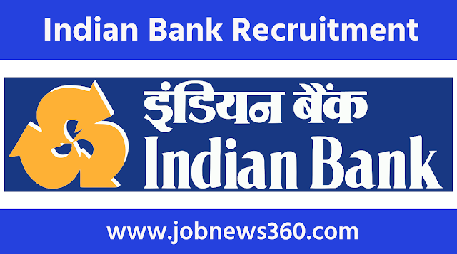 Indian Bank, Chennai Recruitment 2020 for Chief Strategy Officer
