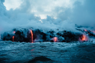 volcan erupcion magma
