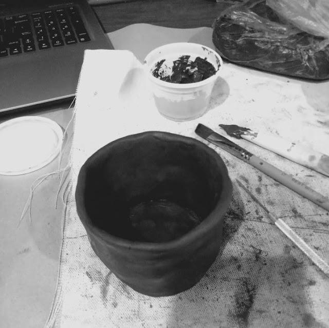 Hand building pottery with Kibo Studio