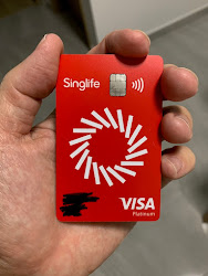 Singlife Visa Debit Card