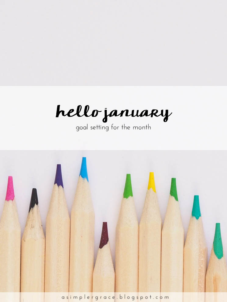 I'm starting the month with some good intentions and a few goals. What is a goal you've set for this monht? #goals #goalsetting
