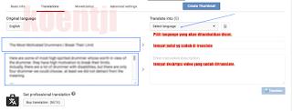 mendongkrak view & earning video youtube dengan translation