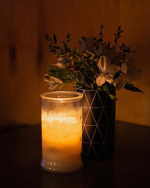 Севкабель Мачты бар свеча натюрморт свечение романтика