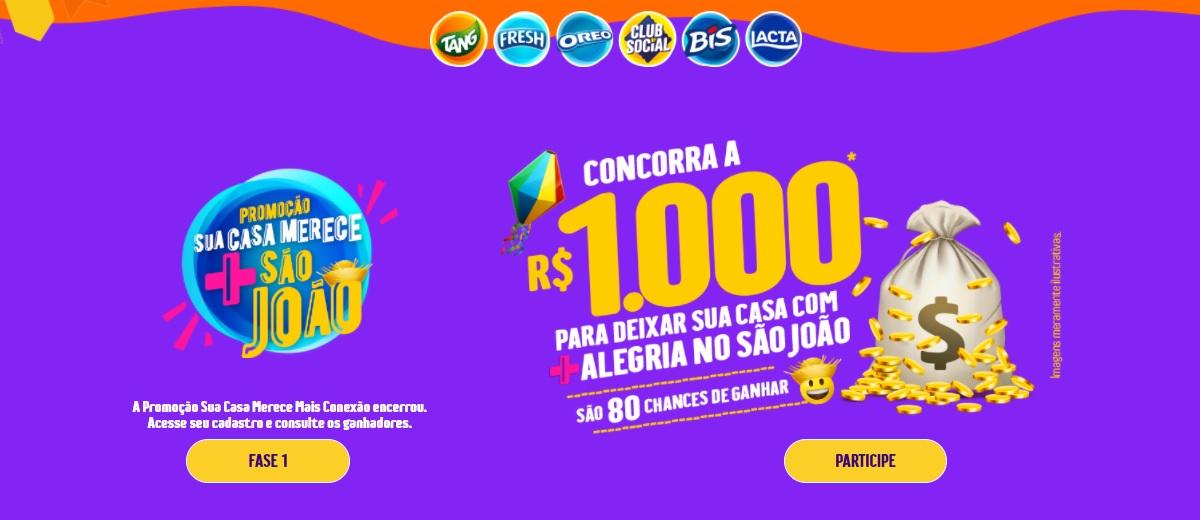 Promoção Mondelez São João 2021