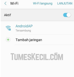 cara ganti ip manual di android