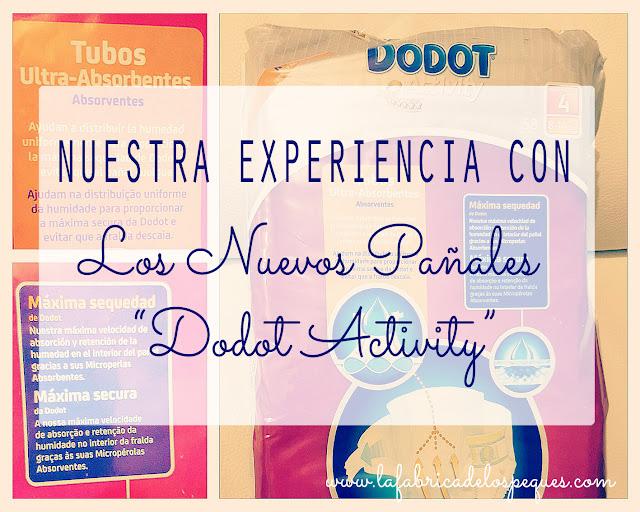 """Nuestra experiencia con los nuevos pañales """"Dodot Activity"""""""