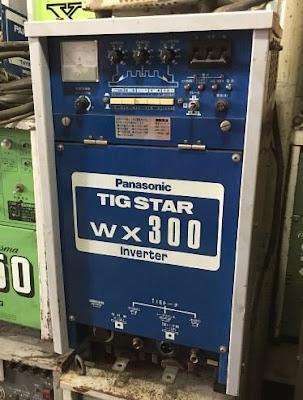 Máy hàn nhôm inverter tig WX 300 Pana