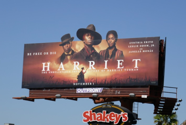 Harriet extension cut-out billboard