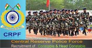 Recruitment Central Reserve Police Force(CRPF) job Assistant Sub-Inspector