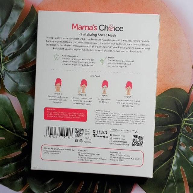 Review Mama's Choice Sheet Mask
