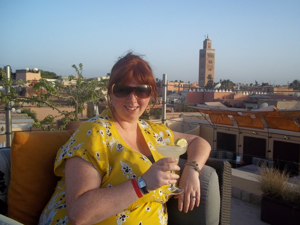 Holiday Ideas for Families with Tweens  - Marrakech Riad rooftop