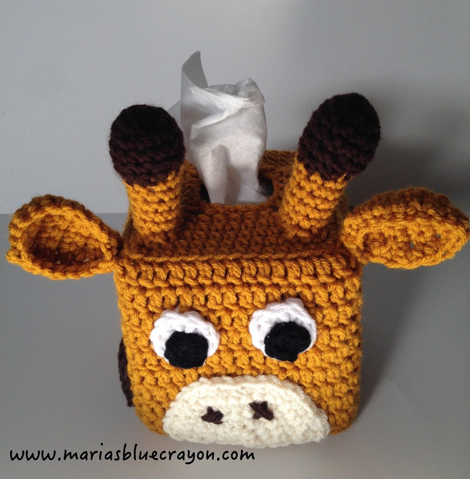 Giraffe Tissue Box Cover Marias Blue Crayon