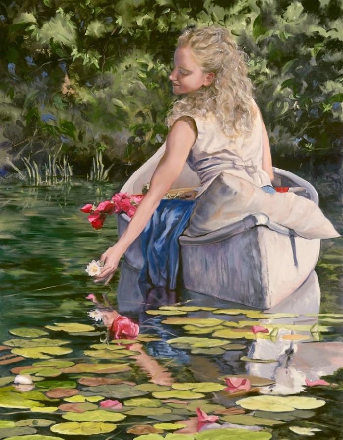 Американский художник. Mary Jane Q Cross
