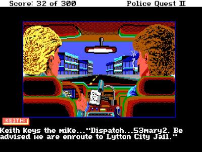 Pantallazo Videojuego Police Quest 2 The Vengeance