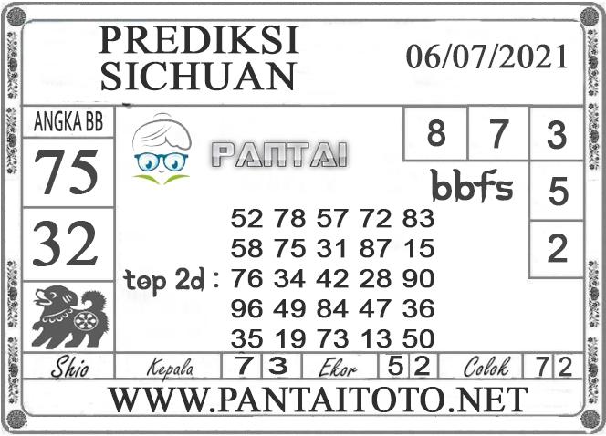 PREDIKSI TOGEL SICHUAN PANTAI4D 06 JULI 2021