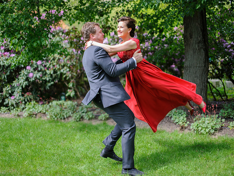 linksma vestuvinė fotosesija