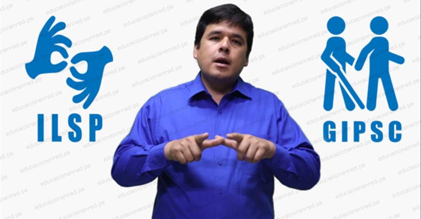 MINEDU pide aportes sobre programa de estudios de lengua de señas y guía intérprete - www.minedu.gob.pe