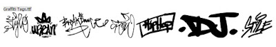Font Graffiti by Woodcutter