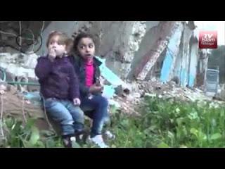Anak Anak Syiria Makan Rumput untuk menyambung hidup - Naon Wae