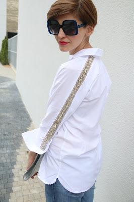 biała koszula, novamoda stylizacje, blog moda, blog po 30-tce, osobista stylistka, Novamoda streetstyle