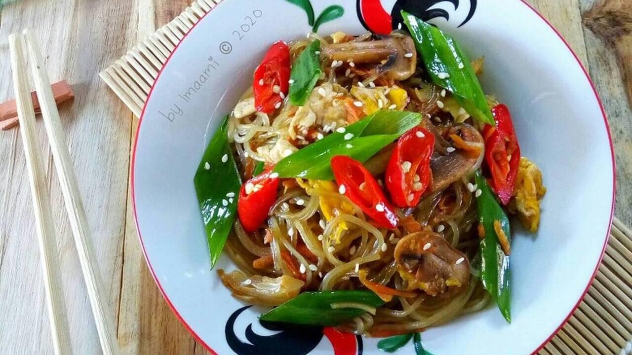 Resep Japchae Makanan Ala korea