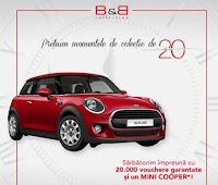 Castiga o masina Mini Cooper + vouchere cadou - concurs - shop - castiga.net
