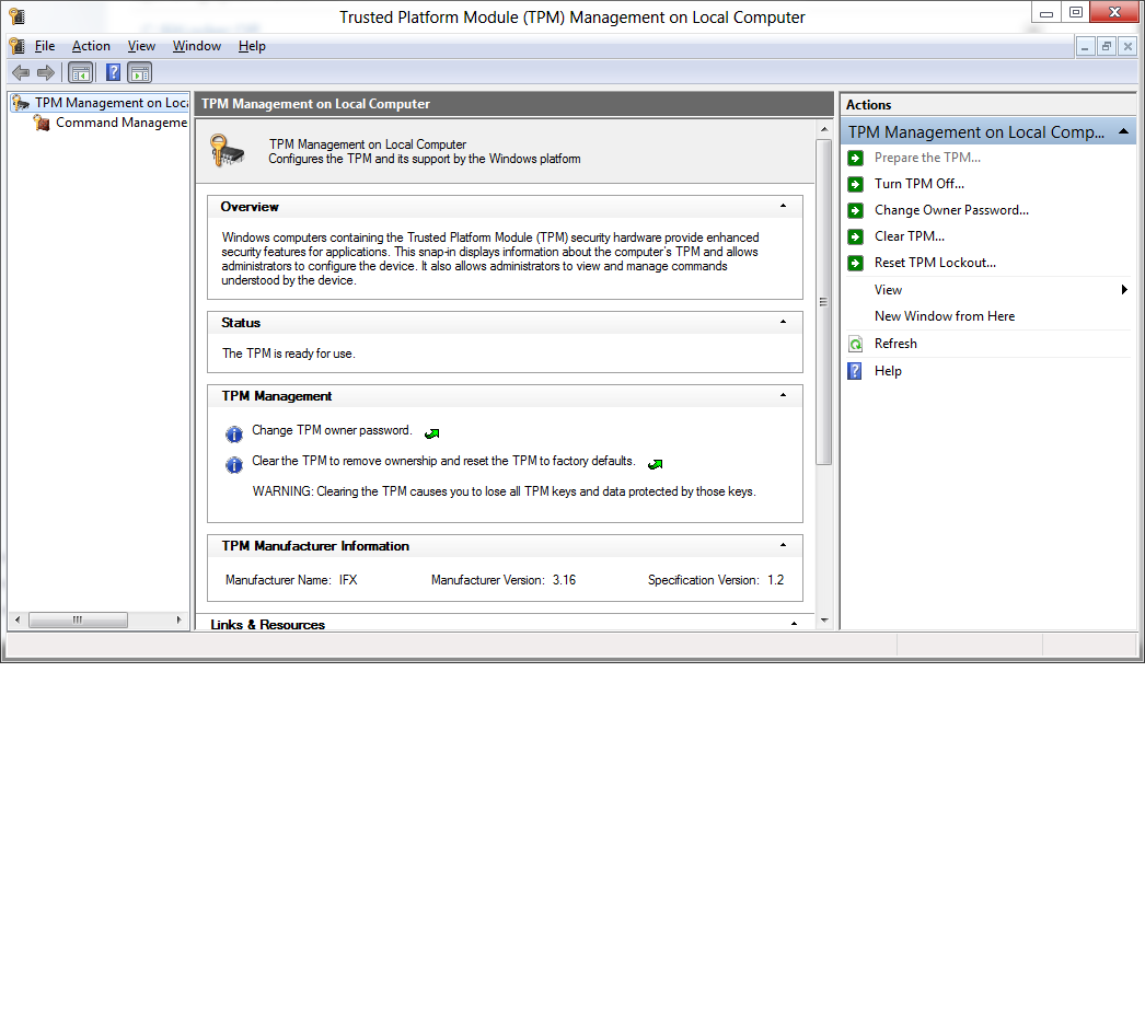 SCCM and Bitlocker TPM Real Life | System Center Configuration Manager