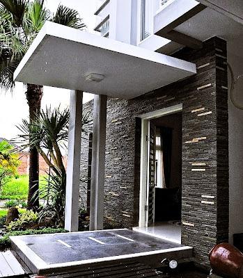 Biaya Renovasi Rumah - Contoh Renovasi Teras Minimalis Modern