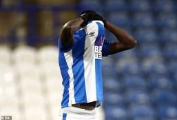 Ex-Arsenal striker Yaya Sanogo misses penalty as Cardiff play goalless draw with Huddersfield