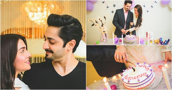 Ayeza Khan Danish Taimoor Wedding Anniversary Celebration Pictures