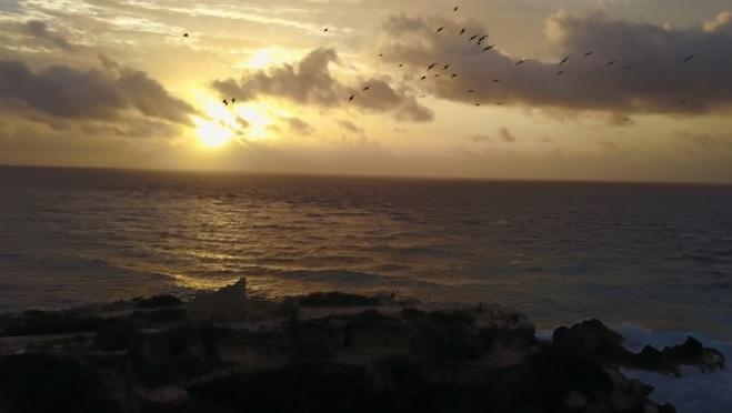 Atardecer en Playa de Isla Mujeres