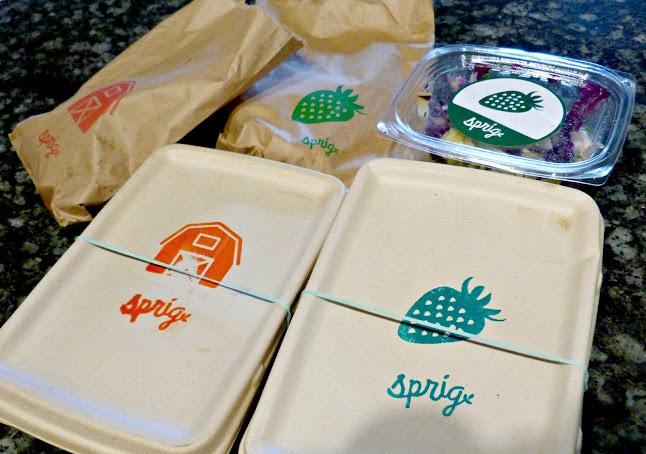 Сервис доставки еды Sprig