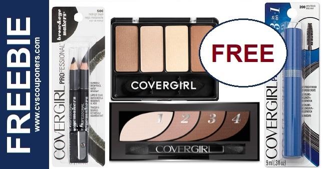 FREE Covergirl Makeup Deals at CVS 1-24-1-30