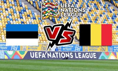 إستونيا و بلجيكا بث مباشر