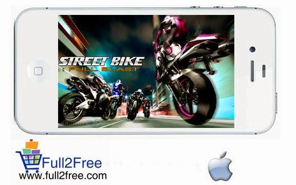 iOS Game : Street Bike – FULL BLAST
