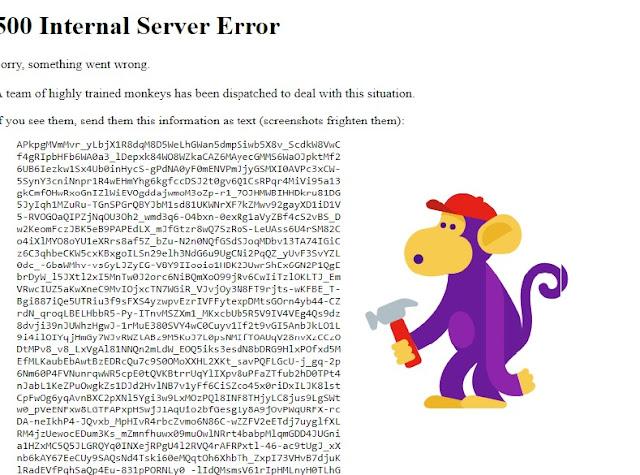 توقف موقع اليوتيوب عن العمل فى جميع انحاء العالم 17 اكتوبر 2018