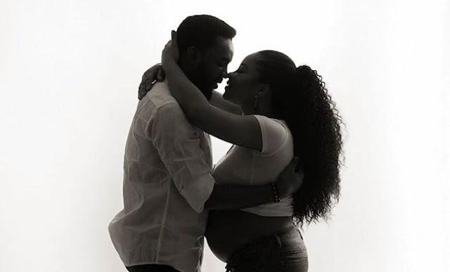 Linda Ejiofor, Ibrahim Suleiman welcome first child together