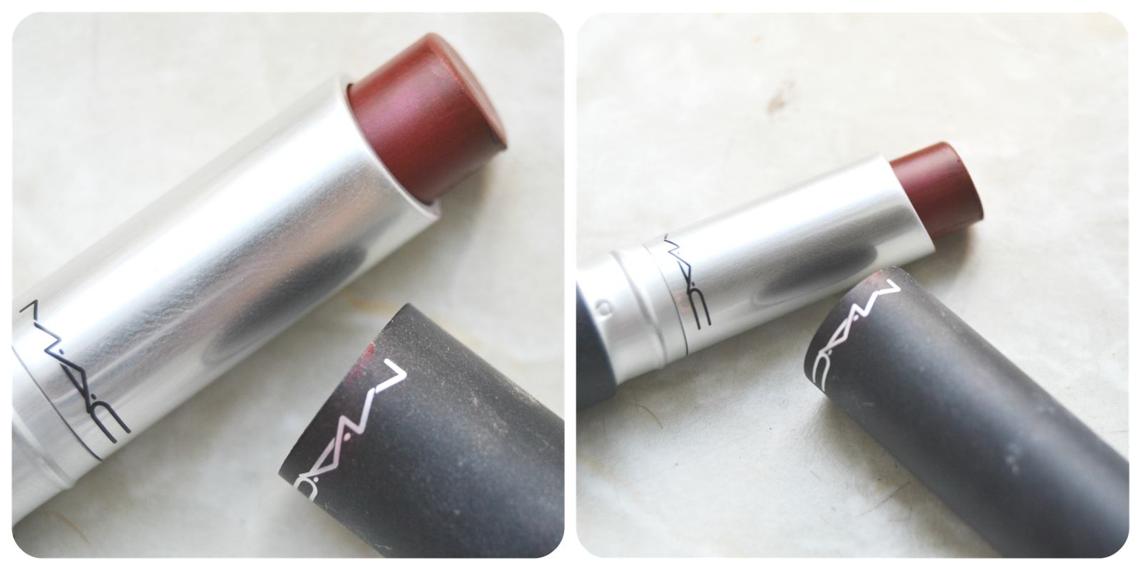 Mac Pro Longwear Lip Creme Endless Drama Swatch