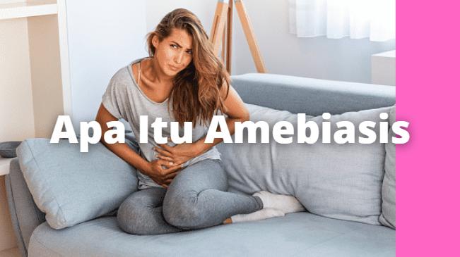 """Apa Itu Amebiasis : Pengertian, Tanda dan Gejala, Penyebab, Faktor Risiko Pengertian Amebiasis Amebiasis adalah infeksi usus besar dan terkadang infeksi hati. Parasit yang menyebabkan Amebiasis adalah Entamoeba histolytica. Tubuh kita memiliki 8 jenis amoeba, hanya Entamoeba histolytica yang menyebabkan Amebiasis.  Tanda dan Gejala Amebiasis Gejala Amebiasis biasanya muncul setelah 2-4 minggu infeksi, atau mungkin beberapa bulan untuk mendeteksi penyakitnya.  Gejala umum Amebiasis termasuk : Diare (10 hingga 12 kali per hari) Diare disertai darah Kram pada perut Buang air besar yang kental Gas dalam perut Gejala yang umum seperti demam, sakit punggung, dan lelah.  Penyebab Amebiasis Amebiasis disebabkan oleh parasit yang disebut Entamoeba histolytica. Parasit ini adalah penyebab utama diare, kerusakan pada perut dan saluran pencernaan.   Parasit menginfeksi tubuh saat Anda minum air yang tidak higienis, atau makan makanan yang terkontaminasi.  Lalat, nyamuk, dan serangga lain juga berisiko menjadi penyalur parasit. Amebiasis dapat menyebar dari hubungan anal dengan orang yang terinfeksi.  Faktor Risiko Amebiasis Ada banyak faktor berisiko untuk Amebiasis, seperti: Bepergian ke tempat-tampat yang memiliki kondisi kebersihan buruk Hubungan seksual Orang-orang dengan sistem ketahanan tubuh lemah atau menderita penyakit kronis lainnya   Nah itu dia bahasan dari apa itu penyakit Amebiasis. Melalui bahasan di atas bisa diketahui mengenai pengertian, tanda dan gejala, penyebab, dan faktor risiko dari Amebiasis. Mungkin hanya itu yang bisa disampaikan di dalam artikel ini, mohon maaf bila terjadi kesalahan di dalam penulisan, dan terimakasih telah membaca artikel ini.""""God Bless and Protect Us"""""""