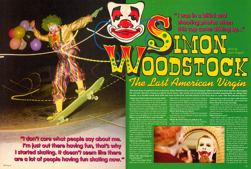 ed2b183df398 F.F.L. zine  Questions for the Notorious Clown
