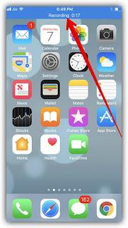تسجيل شاشة الآيفون بدون برامج أو جيلبريك في نظام  iOS 11